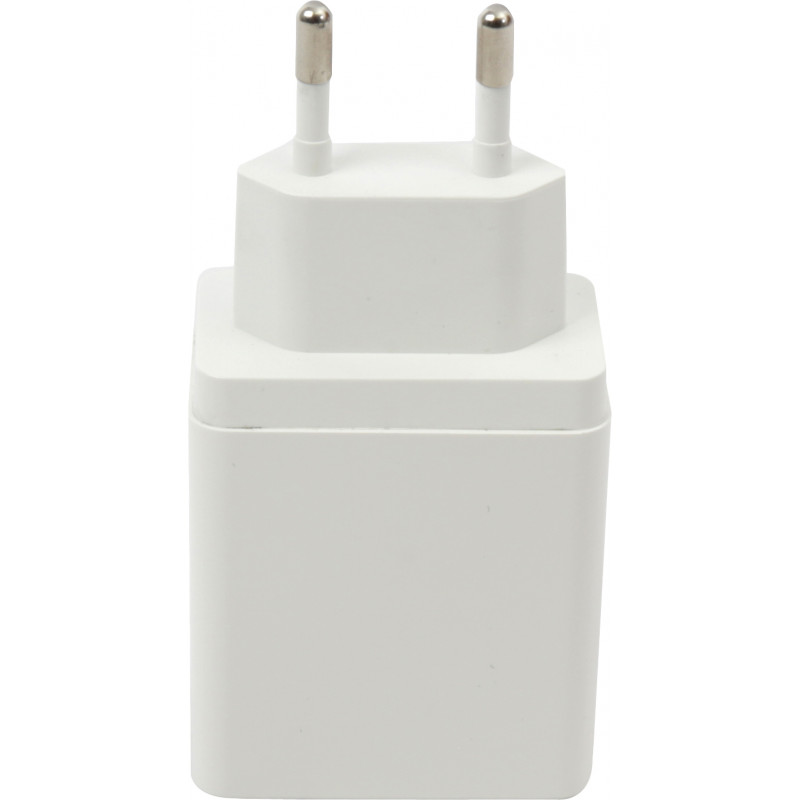 Platinet charger USB 3A Quick Charge, white (44755)