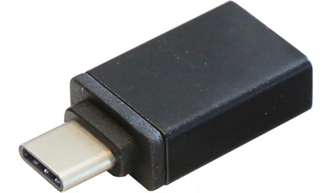 Platinet adapteris USB-A - USB-C (44127)