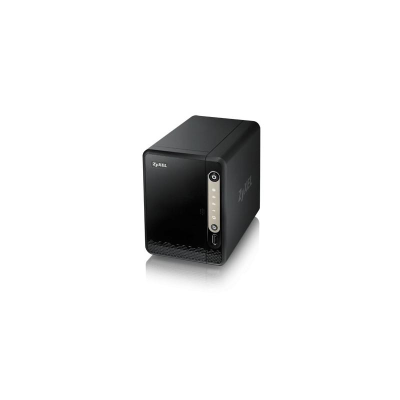 NAS-326 Storage 2xHDD(0TB) 3xUSB 1xGbE NAS326-EU0101F