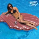 Adventure Goods Sea Shell Inflatable Lilo