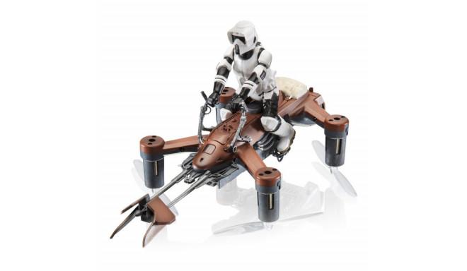 Kaugjuhitav droon Propel Star Wars Speed Bike 35 mph 2.4 GHz Pruun