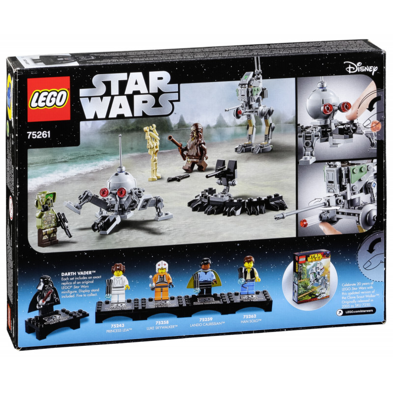 Lego Star Wars 75261 Clone Scout Walker Lego Photopoint