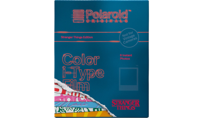 Polaroid i-Type Color Stranger Things