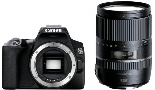 Canon EOS 250D + Tamron 16-300mm VC, must
