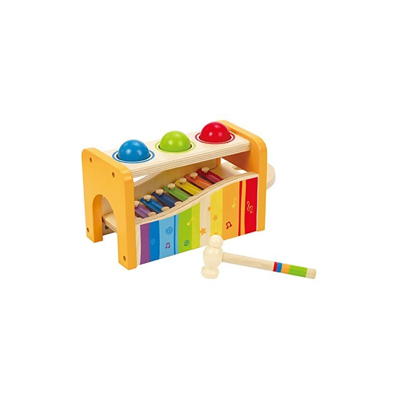 889d8f70a5e Hape 2in1 xylophone and hammer game - Muusikalised mänguasjad ...