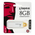 Kingston mälupulk 8GB USB 3.0, valge (DTIG4/8GB)
