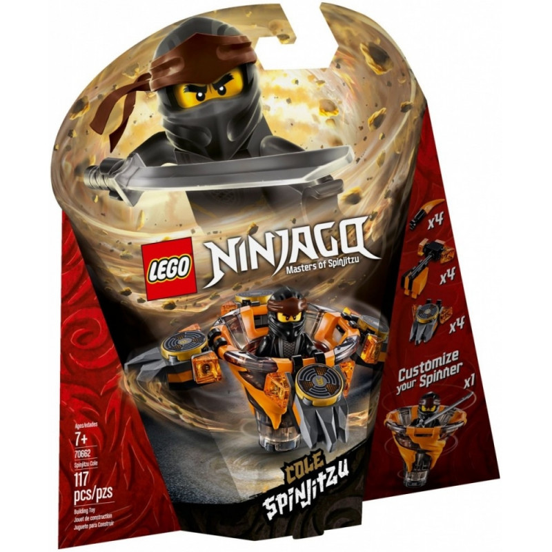 Blocks Ninjago Spinjitzu Cole
