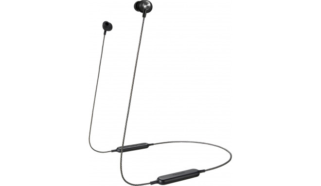 Panasonic juhtmevabad kõrvaklapid + mikrofon RP-HTX20BE-K, must