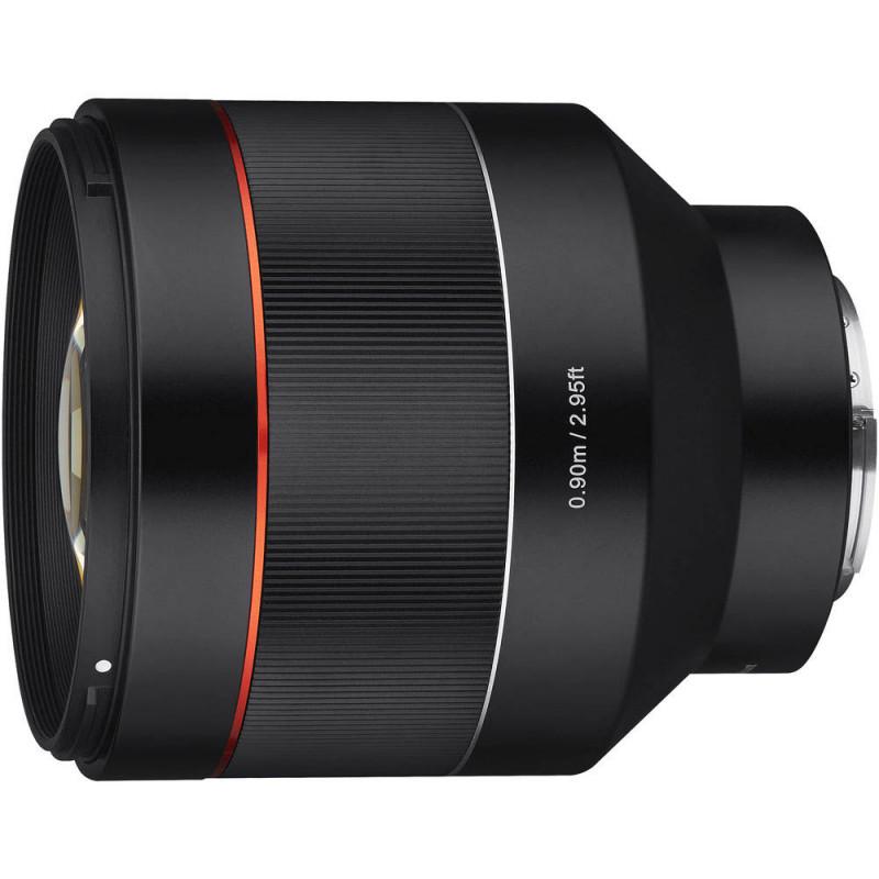 Samyang AF 85mm f/1.4 objektiiv Sonyle