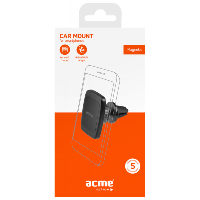 ACME PM1101 magnetic air vent smartphone car mount