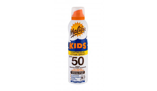 Malibu Kids Continuous Lotion Spray SPF50 (175ml)