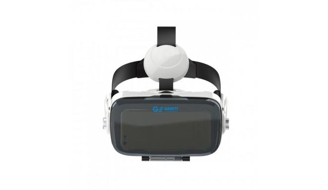 Garett 3D-prillid VR4, valge