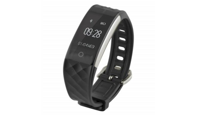 "Aktiivsusmonitor Fitness Band HR 0,96"" Bluetooth 90 mAh Must"
