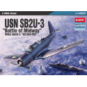 ACADEMY USN SB2U-3 Vindi cator Battle of Midway