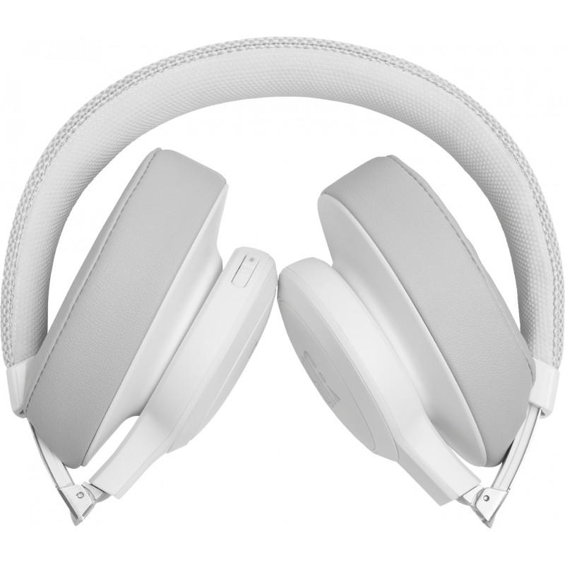 JBL juhtmevabad kõrvaklapid + mikrofon Live 500BT, valge