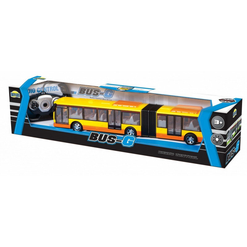 Articulated bus RC with package