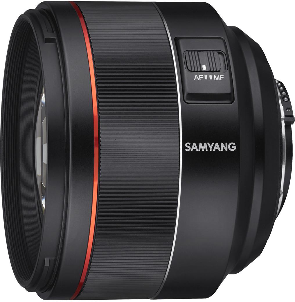 Samyang AF 85mm f/1.4 F objektiiv Nikonile