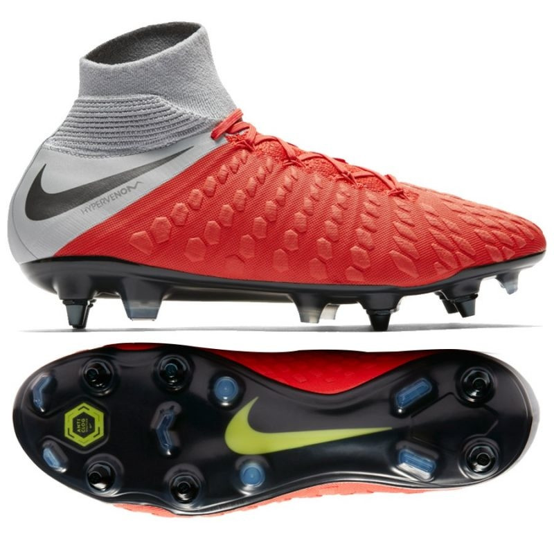 buy popular d5052 17272 Men's football shoes Nike Hypervenom 3 Elite DF SG PRO AC M AJ3812-600