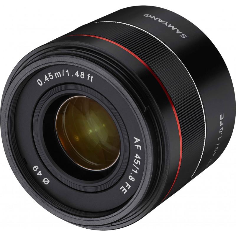 Samyang AF 45mm f/1.8 FE objektiiv Sonyle