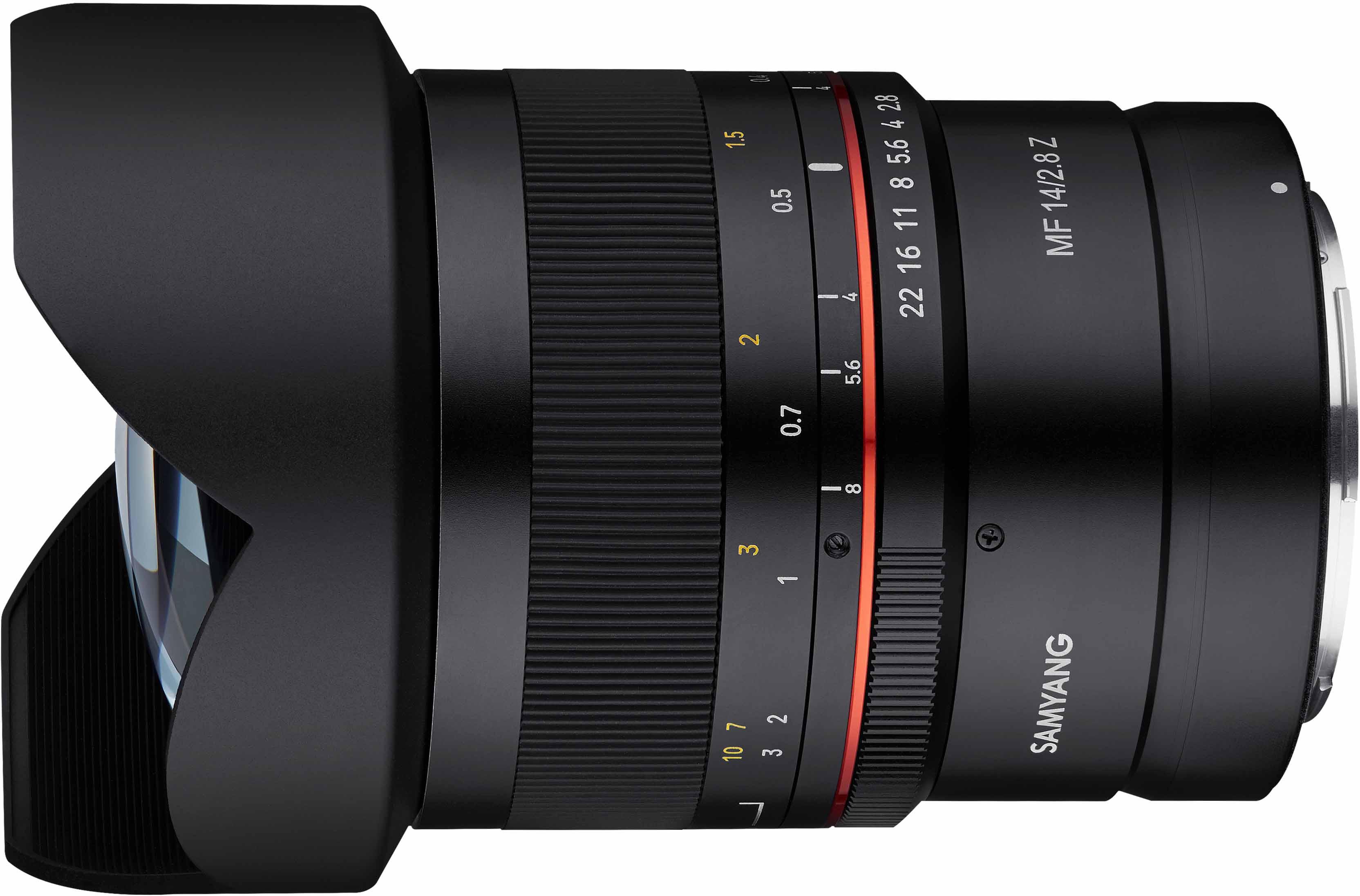 Samyang MF 14mm f/2.8 Z objektiiv Nikonile