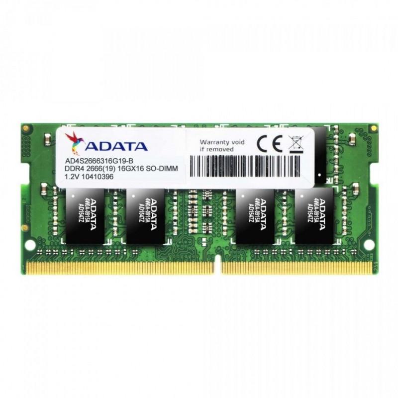 ADATA 8 GB, DDR4, 2666 MHz, Notebook, Registe