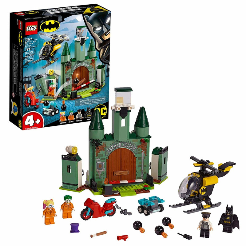 LEGO Super Heroes Joker a  d  Flu  & Bat - 76138