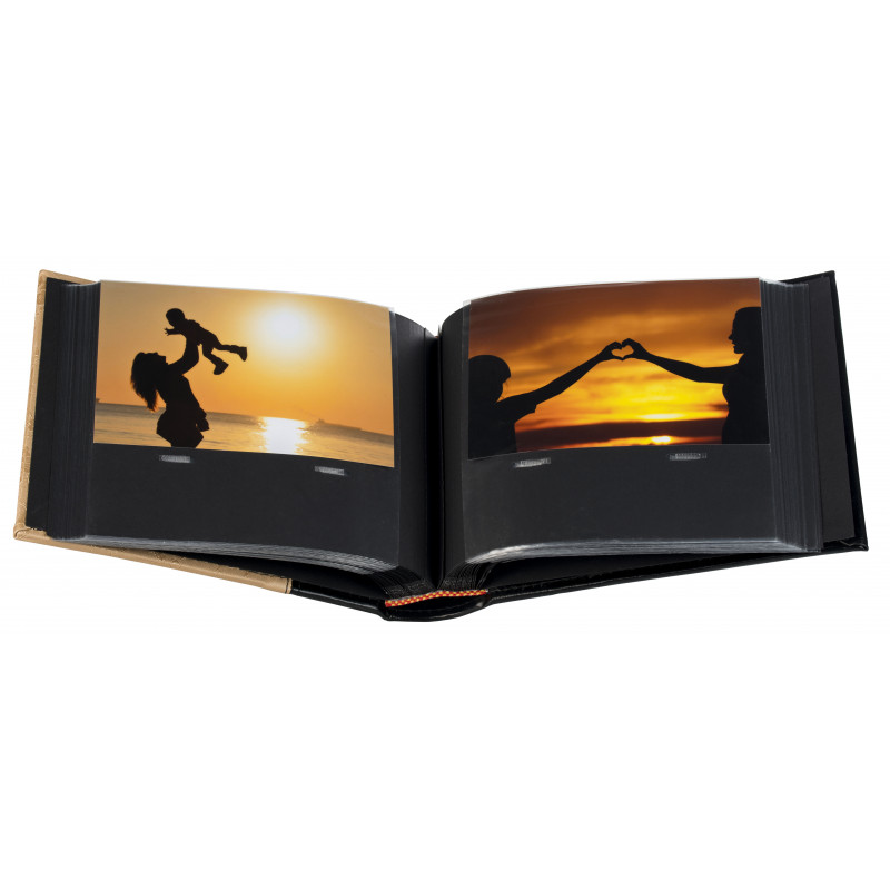 Альбом B 10x15/100M Flower-5 BP, золотистый