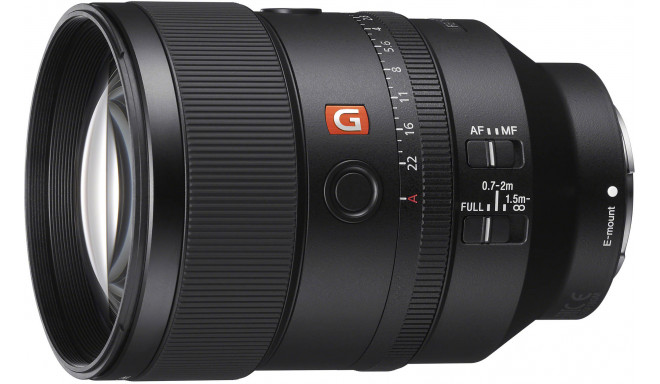 Sony FE 135mm f/1.8 GM objektiiv