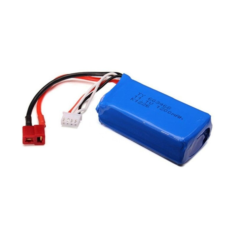 1200mAh 11.1V LiPo T-Dean do WL915