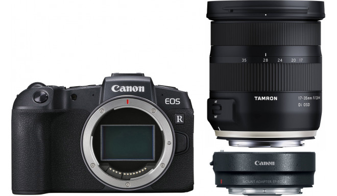 Canon EOS RP + adapter EF-RF + Tamron 17-35mm
