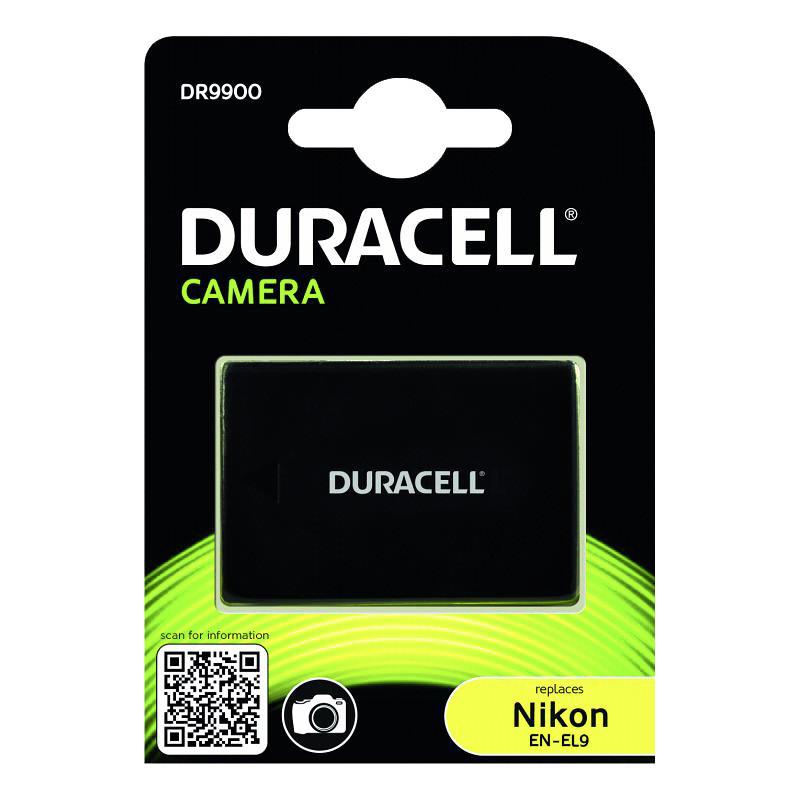 Duracell battery Nikon EN-EL9 1100mAh