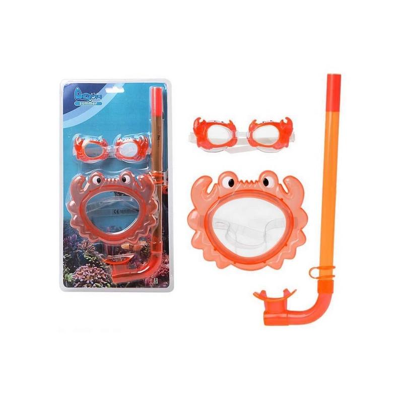 Snorkeldamise Prillid ja Hingamistoru Lastele 115098