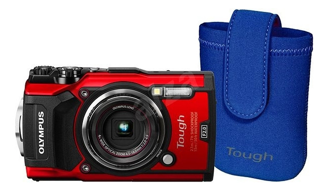 Olympus TG-5 + Neoprene Case Kit Compact came