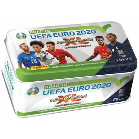 fef11a64e1d Panini football cards Road to Euro 2020 Adrenalyn XL Tin