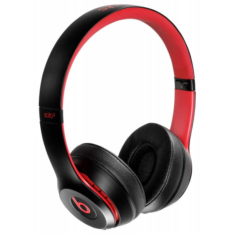 Beats Solo3 Wireless defiant black-red