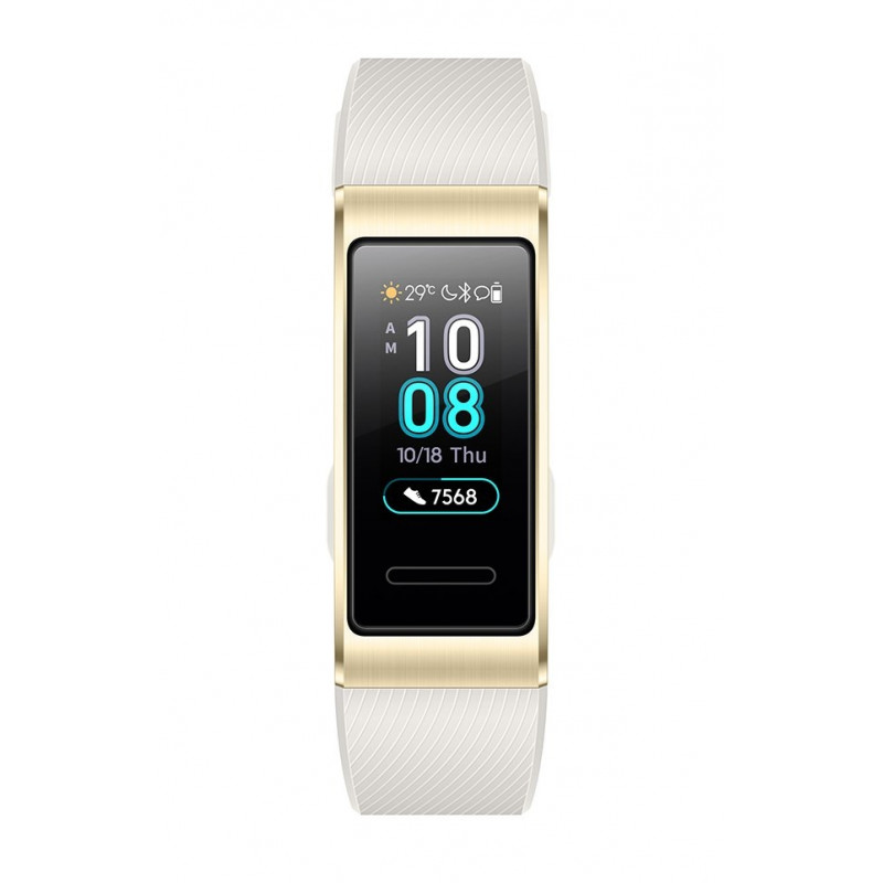 Huawei Band 3 Pro Compact Sport Bracelet for Activities Heart Monitor /  AMOLED / GPS Gold