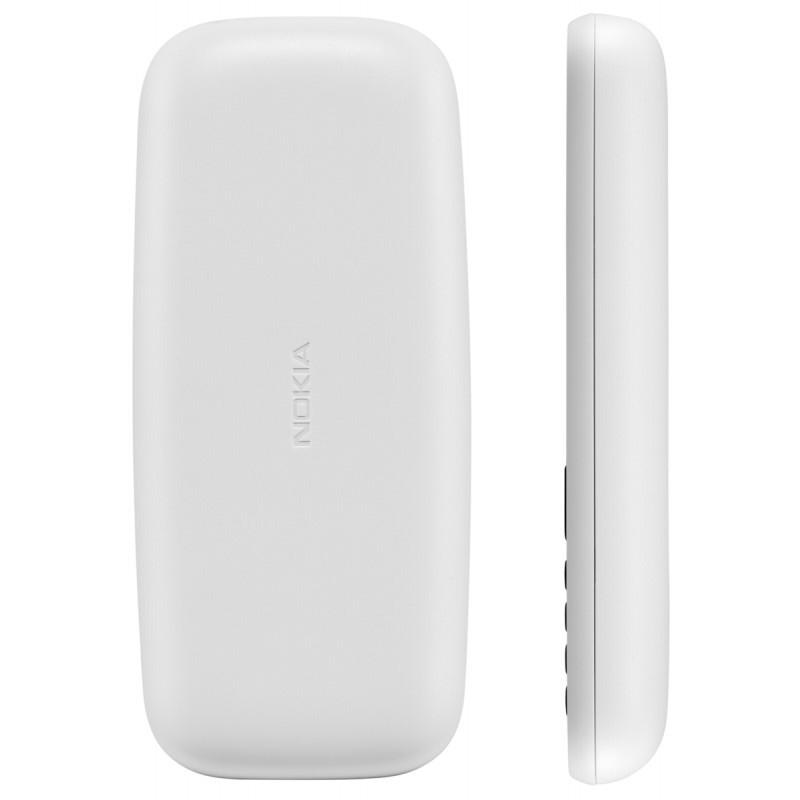 Nokia 105 (2017) DualSIM, valge