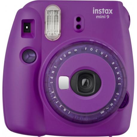 Fujifilm Instax Mini 9, spilgti violets + Instax Mini fotomateriāls