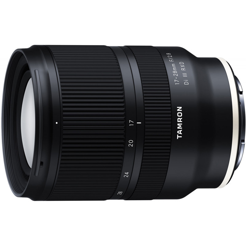 Tamron 17-28mm f/2.8 Di III RXD lens for Sony