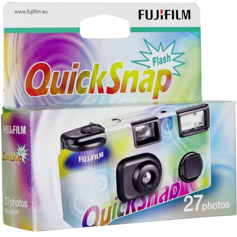 Fuji Quicksnap 400/27 Flash (aegunud)