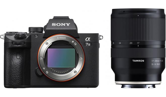 Sony a7 III + Tamron 17-28 мм f/2.8