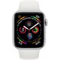 Apple Watch 4 GPS 40mm Sport Band, white