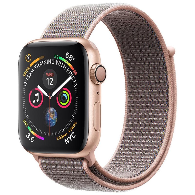 Apple Watch 4 GPS 40mm Sport Loop, pink sand