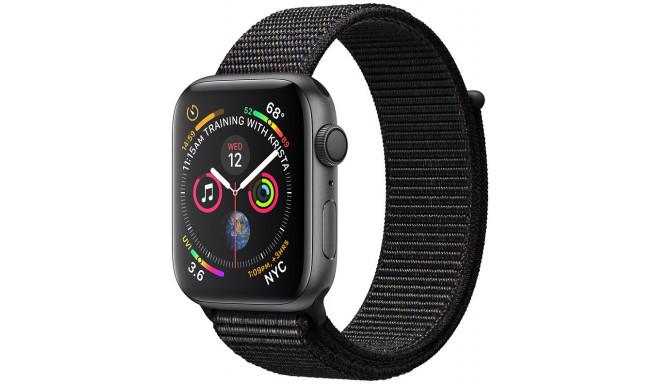 Apple Watch 4 GPS 44mm Sport Loop, melns