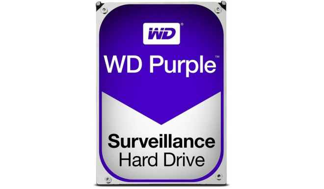 "Western Digital kõvaketas Purple 4TB Surveillance Purple 3,5"" WD40PURZ"