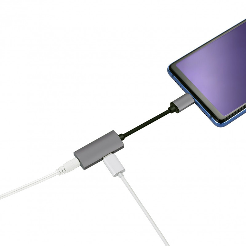 Platinet adapter USB-C - 3,5 mm (44811)