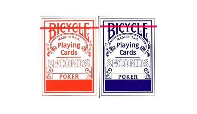 Bicycle mängukaardid Seconds