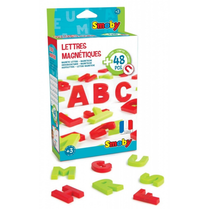 48 magnetic letters