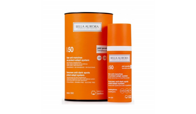 Anti Brown Spot Sun Lotion Protect-adapt System Bella Aurora SPF 50+ (50 ml)