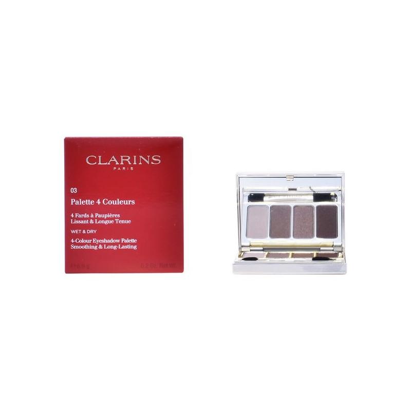 Acu ēnu palete Clarins (02 - Rosewood - 6,9 g)
